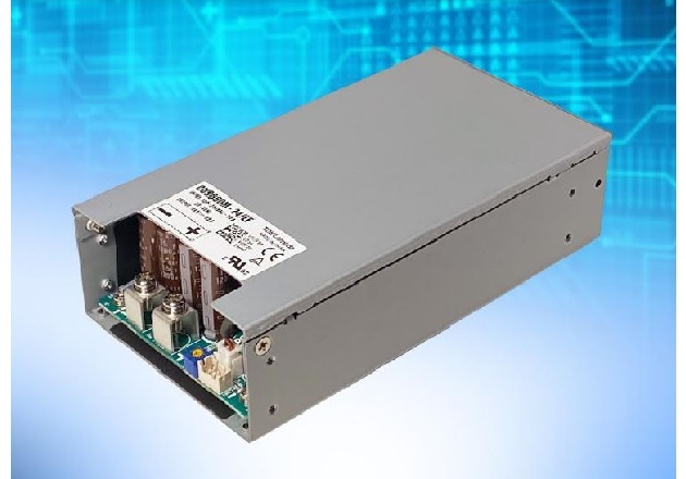 600W Medical and Industrial Power Supplies Offered with Integral Fan for Simplified Cooling
