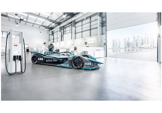 ABB to Provide Fast Charging Technology for the FIA Formula E World Championship Fig2