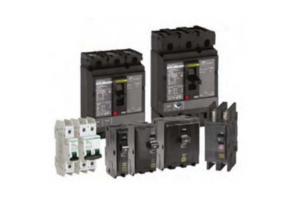 Figure 8. Some circuit breakers are rated AC/DC. This information will be made clear on the manufacturer's label.