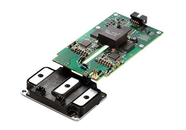 CMT-TIT0697 Gate Driver Board for fast-switching XM3 1200V/450A SiC MOSFET Power Module