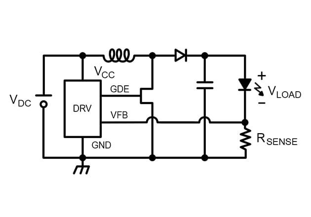 DC-BOOST LED driver