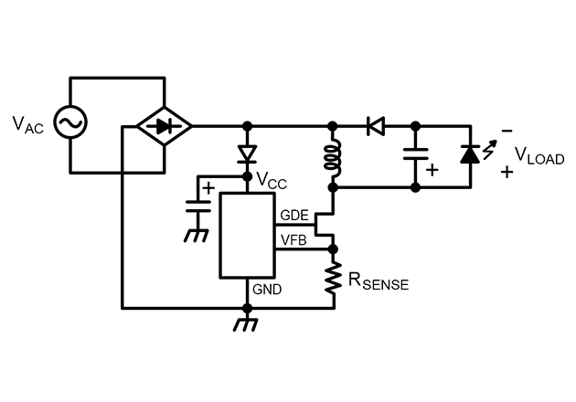 AC-REVERSE-BUCK-BOOST LED driver