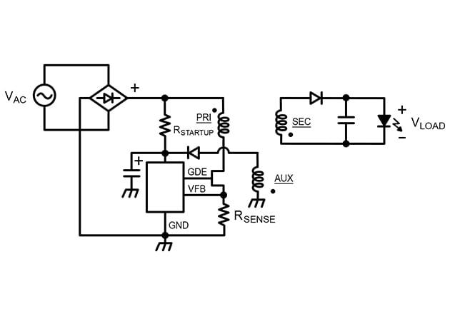 AC-FLYBACK LED driver