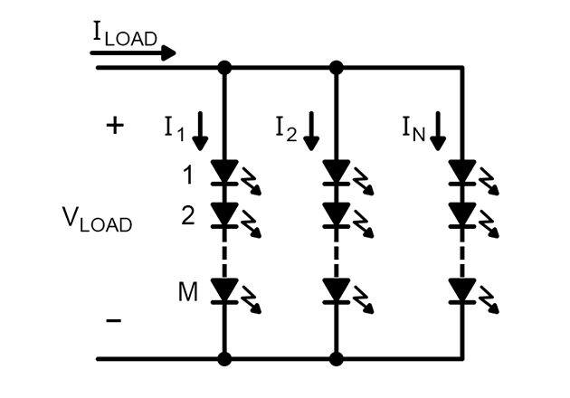 Typical LED connections