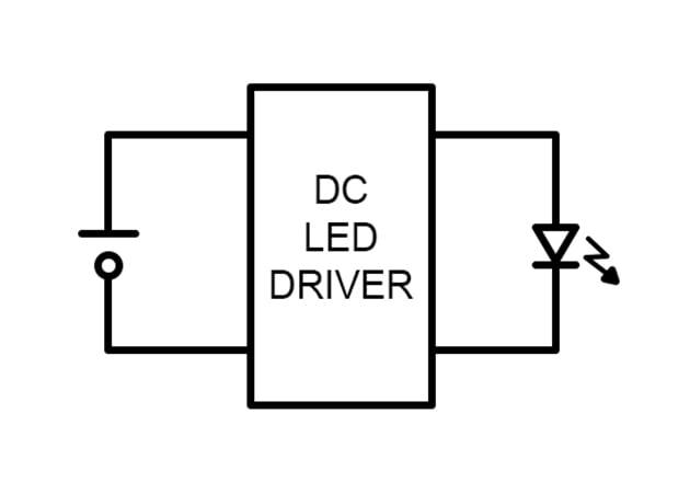 DC LED driver