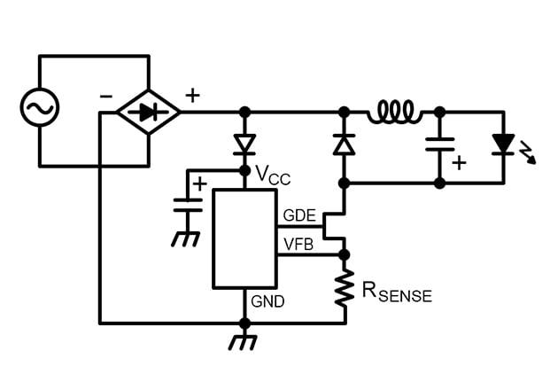 AC-REVERSE-BUCK LED driver