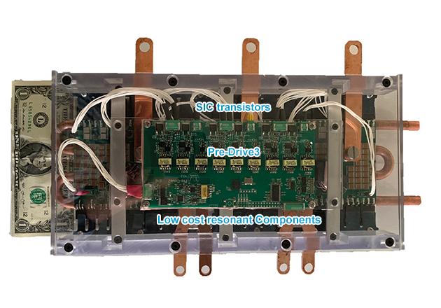 CleanWave200 evaluation system (200kW inverter power block, 800Vdc, 99% efficiency at 100kHz).