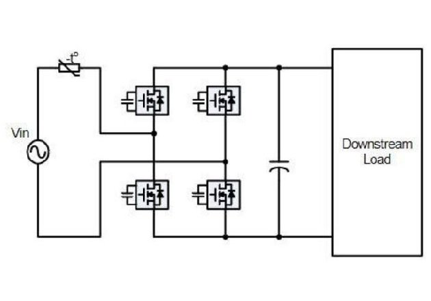 A typical application for the AOZ7270DI. Image courtesy of the AOZ7270DI Datasheet