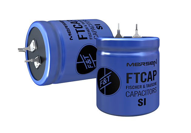 Schumacher also purchases aluminium electrolytic capacitors of the SIH series from Mersen