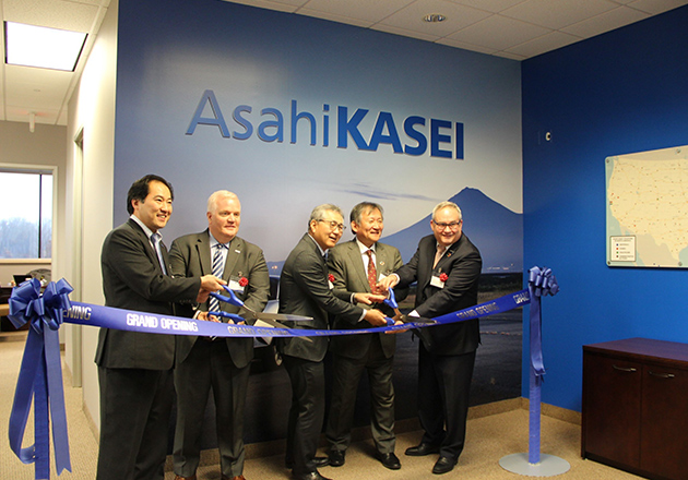 Asahi Kasei Office Ribbon Cutting Image