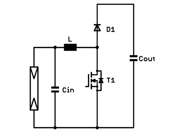 Two-level boost circuit