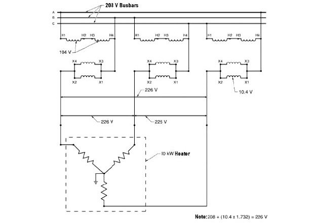 Boosting Voltage with a Buck-Boost Transformer Fig4 fix