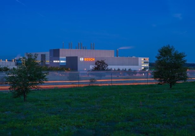 Bosch's new wafer fab in Dresden, Germany. Image courtesy of Bosch