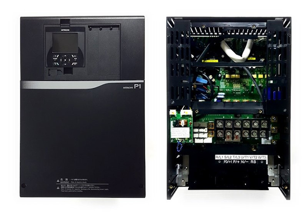 The Hitachi SJ Series P1 variable frequency drive
