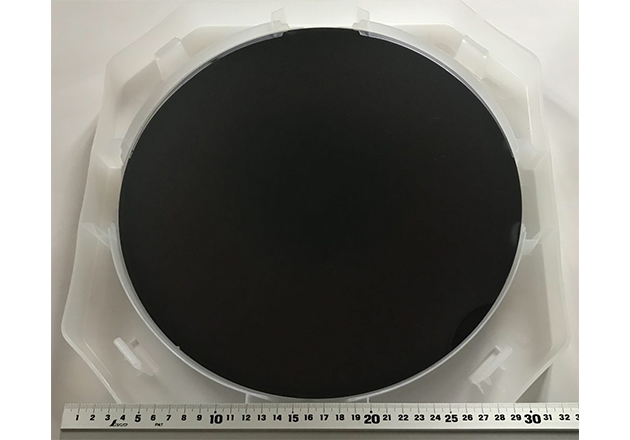 300 mm GaN-on-Si epiwafer for micro LED.