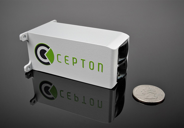 Cepton Introduces a Fielf of View Lidar Sensor for Near-Range Applications Figure