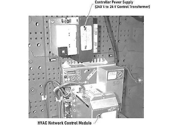 Figure 4. HVAC control systems often use control transformers to step down the 240 V supply to 24 V for the control circuit.
