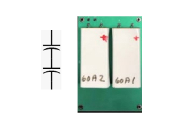 Cornell Dubilier Introduces New Series of Flat Electrolytic Capacitors Figure