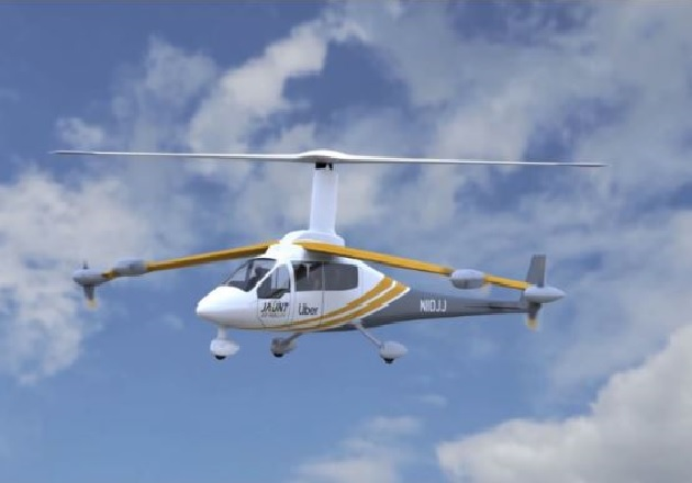 The Jaunt Journey Air Taxi. Image used courtesy of Jaunt