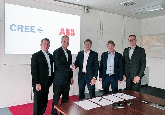 Cree ABB SiC Partnership Image