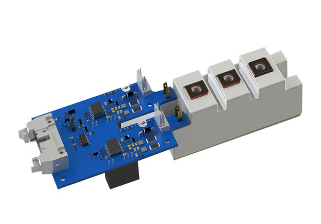 Dual-channel Plug-and-play Drivers for MIAA, MIFA and MIDA-type IGBT Modules Figure