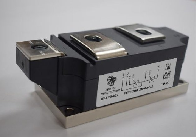Figure 1: Appearance of a А2 module with baseplate width of 60 mm