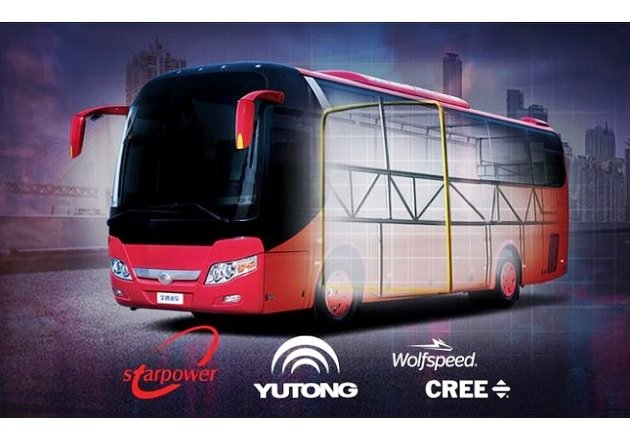 Fig1 Cree Partners with the Yutong Group to Bring China its First SiC-Powered Electric Bus