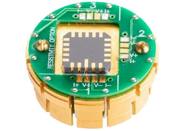 One of the key properties of Paragraf's Hall effect sensor is its wide temperature range from +80°C down to cryogenic temperatures of 1.5 Kelvin. Image courtesy of Paragraf.