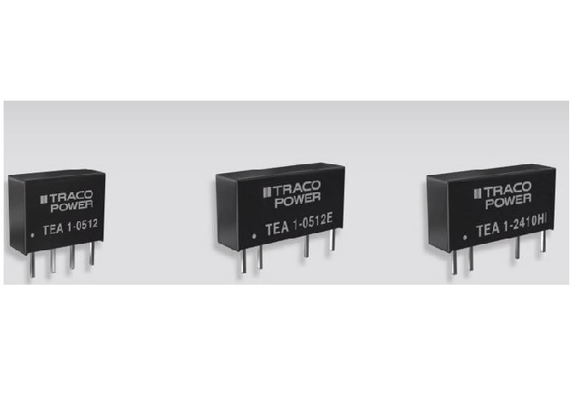 TEA series DC/DC SIP converters From Traco Power