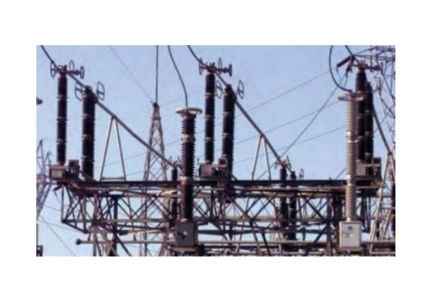 Figure 4. High-voltage surge arresters are used to protect electrical power distribution equipment from power surges caused by lightning strikes.
