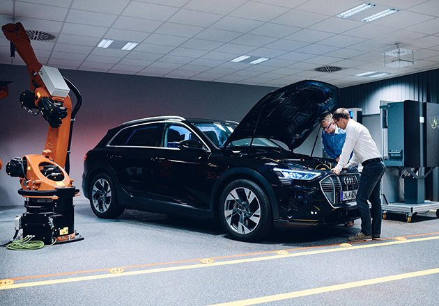 Hager Group and AUDI Work on Vehicle to Home Charging Techniques Figure
