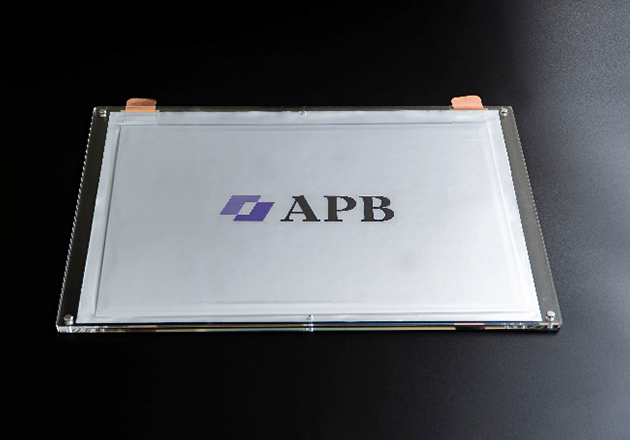 APB's All Polymer Battery (laminated).