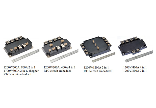 Industrial SiC power modules' line up