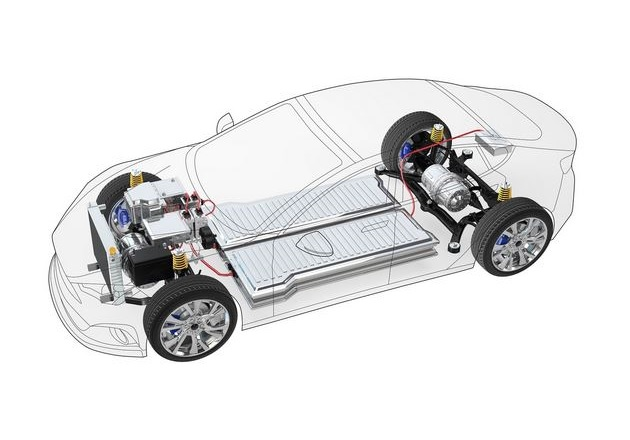Battery management systems in hybrid and electric vehicles ensure that the capacity of a battery is optimally utilized and that the battery does not age prematurely. Image courtesy of Infineon.