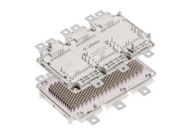 The HybridPACK Drive CoolSiC. Image courtesy of Infineon