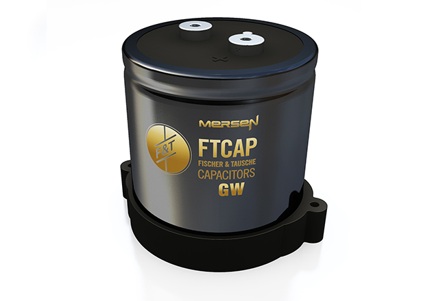 The individual solution for InMOVE is based on the threaded connection capacitors of the GW series, which are designed for optimal cooling