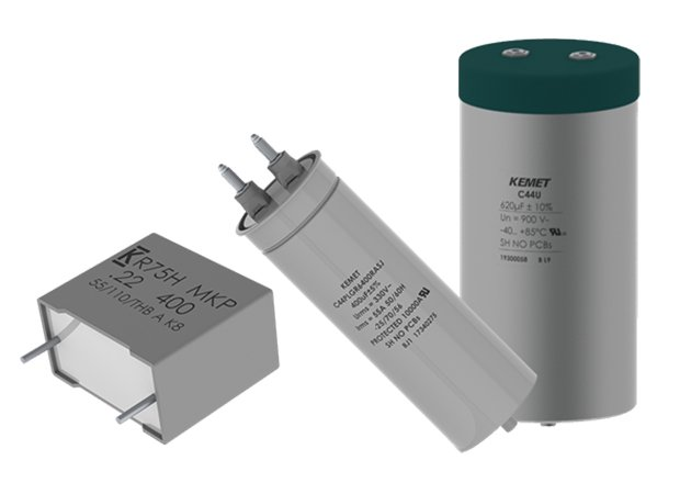 KEMET Introduces New Film Capacitors for Green Energy and Auto Applications Figure