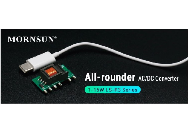 MORNSUN Releases Compact and All-Rounder AC-DC Converter LS-R3 Series Fig1
