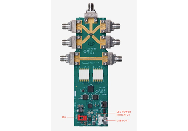 The MM5130EVK218 GHz Evaluation Board