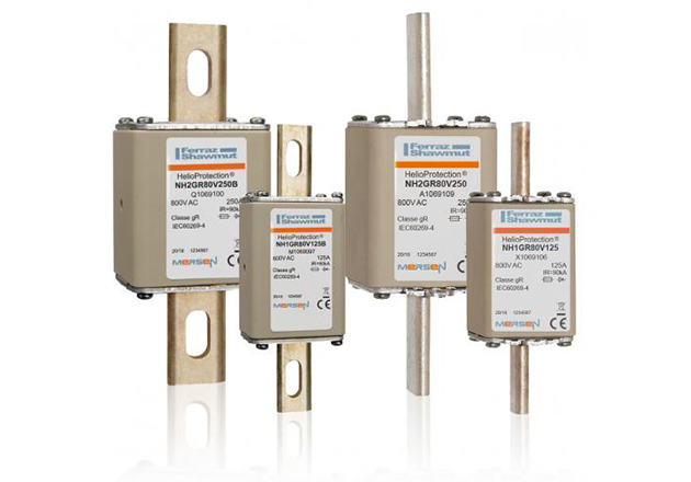 Mersen Announces 800VAC Fuses and Switchgear for Solar Systems with PV String Inverters Figure