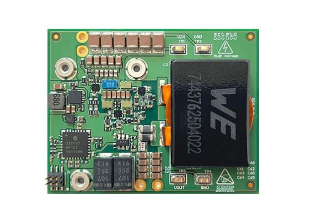 The development board, EPC9148 is rated at 48V with a 12.5A output for high-end computing applications. Image used courtesy of EPC.