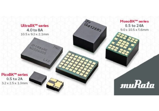 The MonoBK, UltraBK and the PicoBk series. Image courtesy of Murata