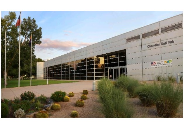 NXP Semiconductors' new GaN fab in Chandler, Arizona. Image courtesy of NXP Semiconductors N.V.