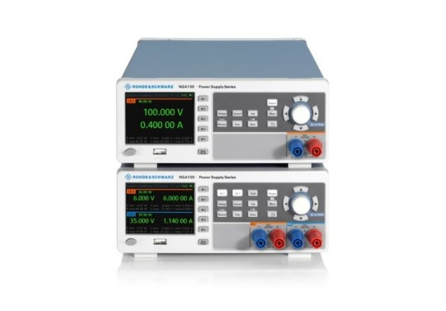 The R&S NGA100 is a new series of basic power supplies. (Image: Rohde & Schwarz)