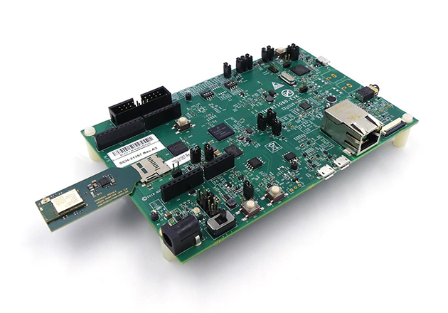 The PAN9026 module.