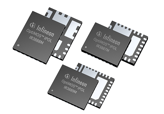OptiMOS™ IPOL voltage regulators with COT engine for enhanced transients and easy design Figure