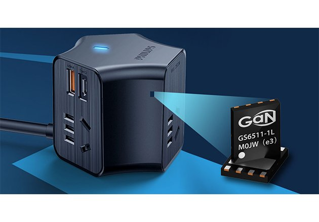 Integrating GaN System's transistors allowed Philips to achieve a lighter product that is 5x smaller than its predecessor