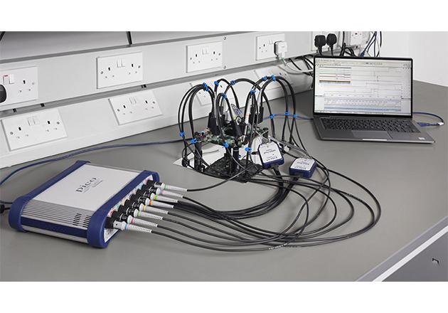 PicoScope 6000E Series ultra-deep-memory oscilloscopes Figure