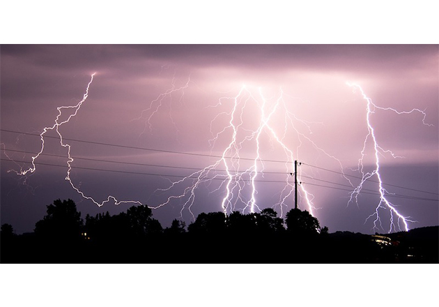 Lightning poses a hazard to both living creatures and structures it comes in contact with
