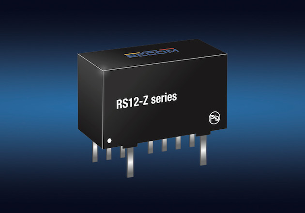 RECOM Announces new D/C Converters Providing 12W in a SIP-8 Package